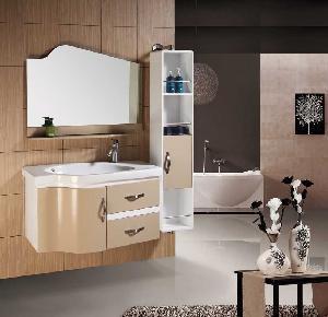 Cheap Bathroom Cabinet / PVC Bathroom Cabinet (W-206) for sale