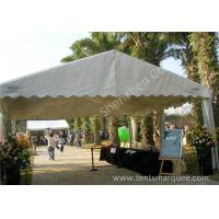 Cheap UV Resistant White PVC Fabric Cover Outdoor Event Tent with Roof Linings wholesale