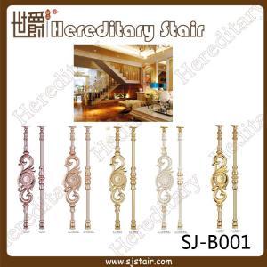Cheap New Design Casting Aluminum Balustrade for Staircase (SJ-B001) for sale