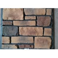 Cheap Classical Style Wateproof Faux Exterior Stone , Faux Veneer Stone Panels For Home Building wholesale