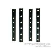 Quality Plain Surface 6 Holes Rail Joint Bar Railroad Fish Plate For UIC60 UIC54 Steel wholesale