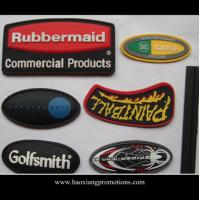 Cheap Wholesale Cheap Custom PVC Soft Rubber Patch with company logo for sale