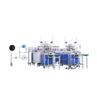 Cheap 80pcs/Min Anti Pollution Mask Manufacturing Machine for sale