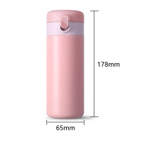 Cheap 0.32L Leakproof 11 Ounce Thermos Flask Coffee Cup for sale
