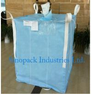 Cheap 1000kg Anti static Industrial Bulk Bags CROHMIQ blue / white for storage chemical powder for sale