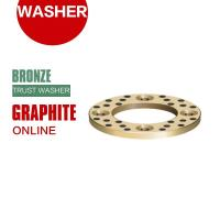Cheap Grooved Bronze Embedded Graphite Shaft Trust Washers & Gasket Long Life for sale