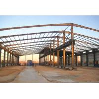 China Large Steel Structure Workshop Prefabricated Workshop Buildings With Crane on sale