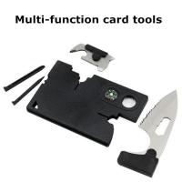 Cheap New credit card knife multifunction 10 in 1 survival card tools for sale
