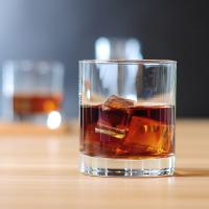 China 240ml 8oz Whiskey Drinking Glasses , Heavy Base Old Fashioned Glass Tumbler on sale