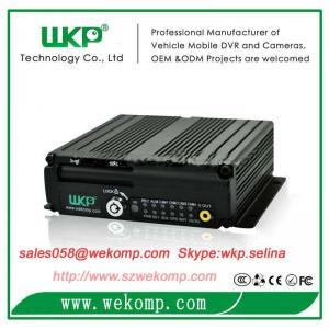Cheap Dual SD Card Vehicle mini Mobile DVR Recorder H.264 High Profile  Hisilicon3515 for sale