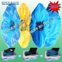 Cheap Plastic PE, CPE Shoe Cover (blue, white, yellow), Shoe Casing, Footwear, Overshoes for sale
