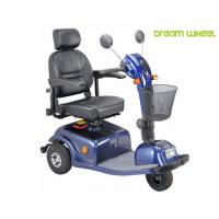 Cheap 24V 40Ah Three Wheels Electric Mobility Scooter 6Km - 12Km / H 88Kgs Multi Function for sale