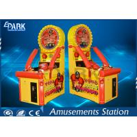 Cheap Kids Arcade Punching Machine / Punching Game Machine Steel Wooden Material for sale