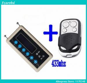 Cheap Fcarobd car remote control copy 433mhz car remote code scanner + 433mhz A002 car door remote control copy for sale