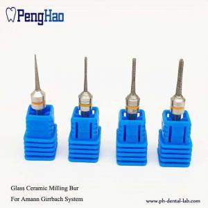 China Coating Glass Dental Diamond Bur , Dental Milling Tools For Amann Girrbach System on sale