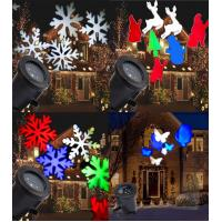 Gemmy Lightshow Swirling White Snowflakes LED Projection Light SnowFlurry NIB