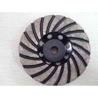 Cheap Silver Brazed 4.5 Diamond Grinding Wheel For Angle Grinder , High Performance for sale