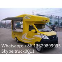 Factory direct sale mobile ice cream truck for sale with metal painting and washing basin, Chang'an mobile food truck