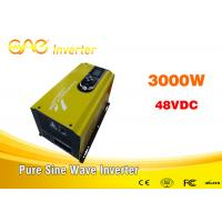 Cheap 3000w off grid solar inverter single phase dc to ac pure sine wave 220v ac 48v dc converter with charger for sale
