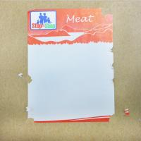 Buy cheap Blank Label Security Destructible Vinyl Labels , Egg Shell Sticker Rolls Custom from wholesalers