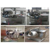 Cheap 800×600×900mm Chocolate Tablet Coating Machine Adjustable Rotational Speed for sale