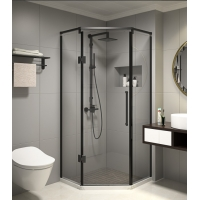 Cheap 900x900mm Diamond Shaped Corner Shower Stall for sale