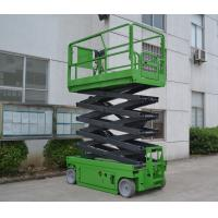 Cheap Factory Sale Electric Self Propelled Scissor Lift Table 10m Platform Height 320kg Loading capacity for sale