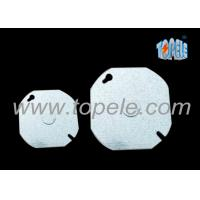 Cheap EMT Conduit Box Covers Industrial Blank Up Plate Thickness 1.2mm / 1.5mm / 1.6mm for sale