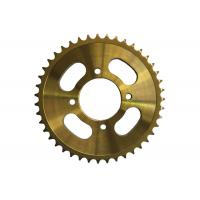 Cheap 428H116 Motorcycle Sprocket Chain , Custom Motorcycle Sprockets Heat Treatment Surface for sale