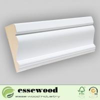 Cheap Gesso Primed MDF Wall Base/Skirting Board/Crown Moulding for sale
