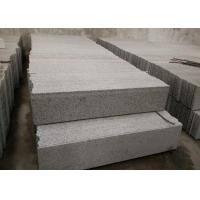 China Sesame White Granite Stone Stairs , G655 Granite Outdoor Steps High Hardness on sale