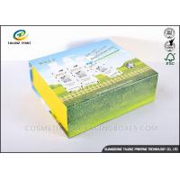 Cheap Handmade Foldable Gift Boxes Colorful Appearance Excellent Scratch Resistance for sale