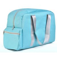 China Hot-selling Foldable Travel bag with Handles and side pockets Zipper travel bag on sale