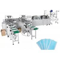 Cheap Digital Disposable Automatic Face Mask Making Machine Fish Type CE Certification for sale