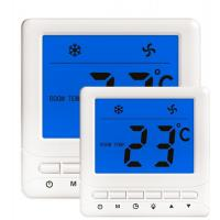 Cheap Blue/White Backlight  FCU Thermostat External Temperature Sensor Optional for sale