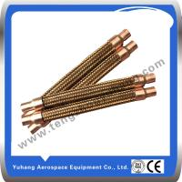 Cheap Copper corrugated hose,Brass braided hose,Flexible Hose for sale