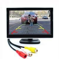 Cheap 16 / 9 800*480 Car Rear View Monitor 2.4GHz Frequency RGB Color Configuration for sale