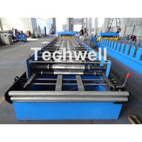 Quality Metal Glazed Wave Tile Roll Forming Machine With Welded Wall Plate Frame and wholesale