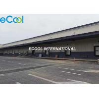 Cheap Prefabricated 200 tons / day Turn over Cold Storage Logistics and Distribution Center for sale
