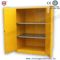 Buy cheap 2 Door Vented Flammable Storage Cabinet Laboratory Locking Metal For Liquid Chemical from Wholesalers