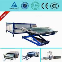 Cheap Heat Glass Lamination Machine , Automatic Vacuum Laminating Machine For Glass Curtain Wall for sale