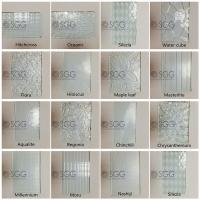 Excellence Quality 4mm 5mm 6mm Clear Silesia Pattern Glass
