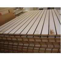 Buy cheap China ACEALL Tableros MDF Ranurados Slotted Melamine Faced MDF Board from wholesalers