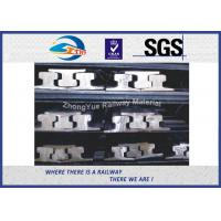 Cheap DIN 536 Standard Steel Rail A55 A65 A75 A100 A120 with 900A or 50Mn at 12m for sale