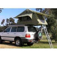 Cheap Fireproof 4 Person Roof Top Tent , Folding Roof Tent With Large Window for sale