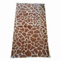 Cheap Beach Towel with Velour Reactive Printing, Made of 100% Cotton for sale