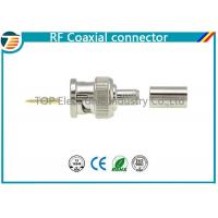 Quality Straight 75Ω Cable Mount RF Coaxial Connector BNC Connector Plug RG59 wholesale