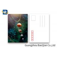 Cheap Amizing Design Star 3D Lenticular Postcards With Two Side CMYK UV Offset Printing for sale