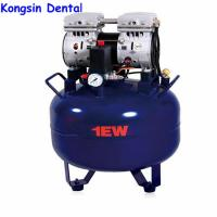 China 32L Portable Silent Oil Free Dental Air Compressor For 1pc Dental Chair on sale