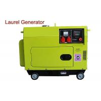 Quality Top Mounted Fuel Tank Diesel Generator 5KW Portable Low Operating Temperature wholesale